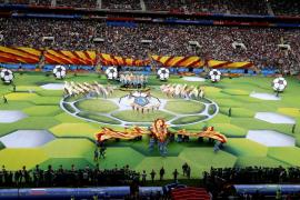 Rusia inaugura el Mundial de fútbol