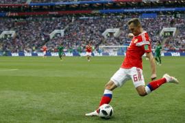 Rusia golea a Arabia Saudi en el primer partido del Mundial