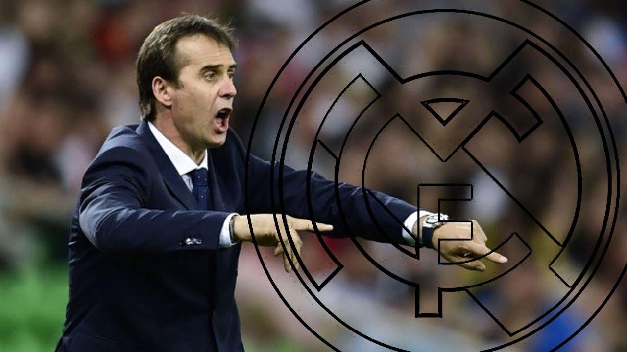 Presentación de Julen Lopetegui como entrenador del Real Madrid