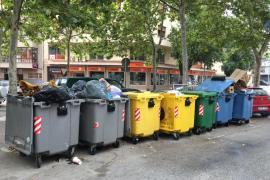 Prosigue la huelga de recogida de basuras en Manacor, Inca y la Mancomunitat des Raiguer