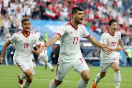 Irán sorprende a Marruecos en el descuento