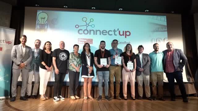 Noelia Márquez, primer premio Connect'Up: «Somos la evolución de la gestión del residuo orgánico»