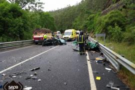 Cuatro muertos en dos accidentes de tráfico en las carreteras asturianas