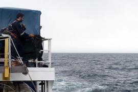 La nave 'Aquarius' llega a las Baleares en su séptimo día de navegación