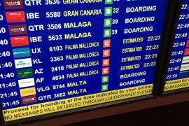Más de 30 vuelos cancelados en el Aeropuerto de Palma por la huelga de controladores franceses