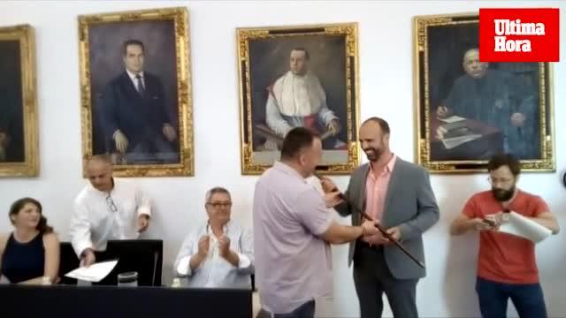 Jaume Monserrat toma posesión como alcalde de Felanitx