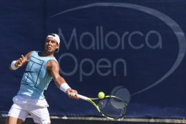 Nadal preparará su participación en Wimbledon en la hierba del Mallorca Open