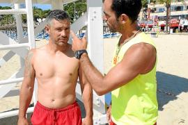 Diez turistas británicos agreden a dos socorristas en la playa de Magaluf