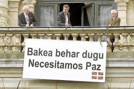 López desconvoca los actos por la paz tras la decisión del PNV de no acudir
