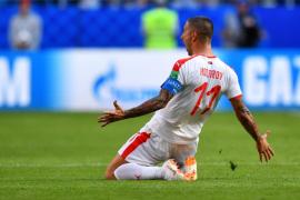 Kolarov rescata a Serbia ante una combativa Costa Rica