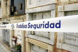 Dos detenidos por la oleada de robos en más de 300 sepulturas del cementerio de Palma