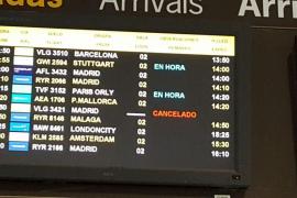 Cancelados 68 vuelos en Baleares por la huelga de controladores franceses