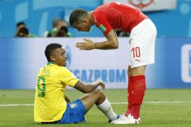 Suiza frena a Brasil