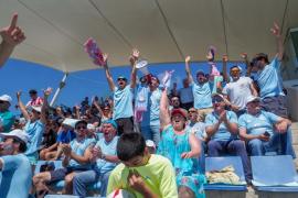 Las mejores imágenes del partido entre la UD Ibiza - Atlético Levante (Fotógrafo: Marcelo Sastre).