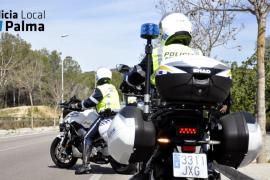 Detenido un ladrón tras dar un tirón y caerse de la moto