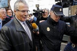 Garzón será juzgado el 29 de noviembre por las escuchas del caso Gürtel