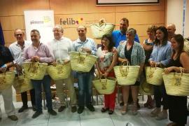 Pimeco reparte 1.000 cestas mallorquinas entre los clientes del pequeño comercio