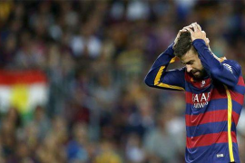 El Barcelona reconoce estar molesto con Piqué por el 'caso Griezmann'