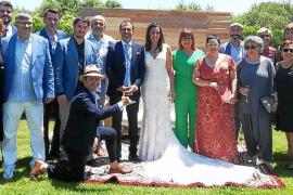 Son Negre acogió el enlace matrimonial de Biel Barceló