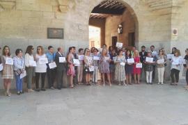 Los letrados de la Administración de Justicia reclaman en Palma mejoras laborales