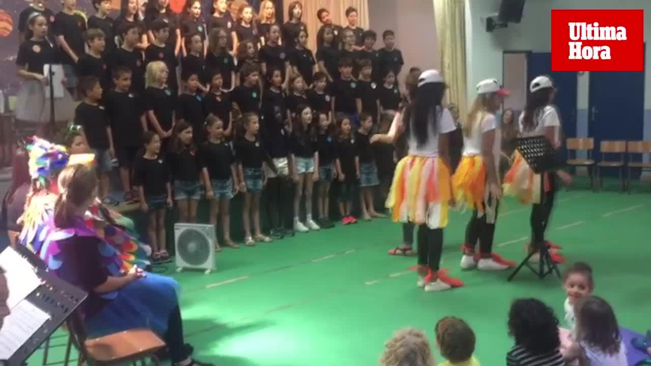 Cantata infantil de los estudiantes de Educación Infantil del CESAG y escolares del CEIP Aina Moll