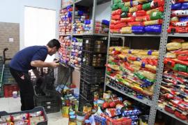 El Banc d'Aliments repartió 1,3 millones de kilos en 2017 en Mallorca