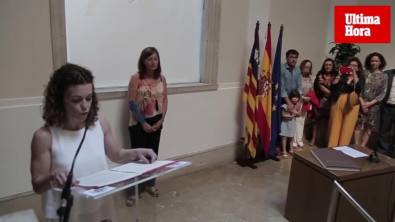 Rosario Sánchez Grau toma posesión como nueva Delegada del Gobierno en Baleares