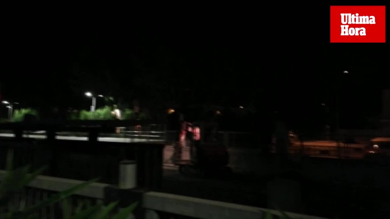 Los vecinos de la estación de Manacor indignados por las obras del tren a altas horas de la noche