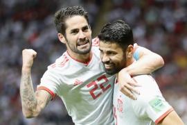 España sufre para derrotar a Irán