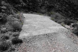 Defensa del Territorio abre un expediente por un hormigonado realizado en La Trapa