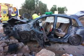 Dos chicas heridas graves y otras tres leves en un accidente en Manacor