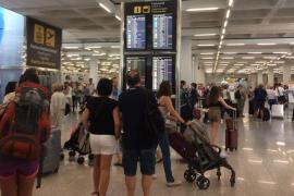 Numerosos vuelos cancelados en Palma por la huelga de controladores franceses