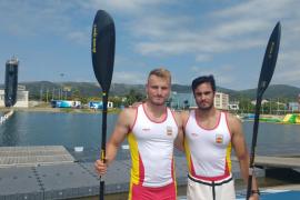 Marcus Cooper Walz y Rodrigo Germade, oro en K2 500 en los Juegos Mediterráneos