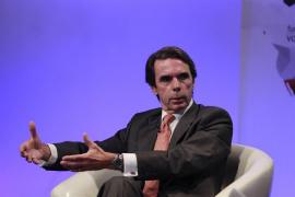 """Aznar apuesta por """"refundar"""" el PP para que siga siendo un partido de Gobierno."""