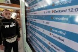 Cancelados 133 vuelos en Baleares por la huelga de controladores franceses