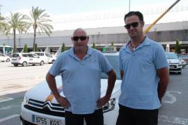 Los taxistas de Palma estrenan uniforme