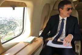 Carcajadas en Twitter por las fotos del presidente Sánchez