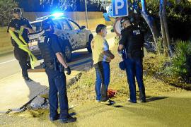 Detenido un conductor borracho tras sufrir un accidente en Andratx