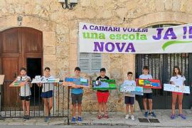 Los alumnos que no pudieron estrenar escuela diseñan un centro para Caimari