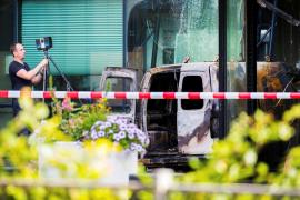 Ataque contra el diario holandés 'De Telegraaf'