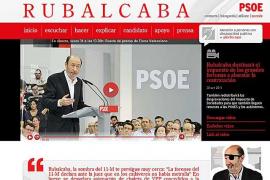 Piratas informáticos sabotean la web de Rubalcaba con un mensaje  sobre el 11M