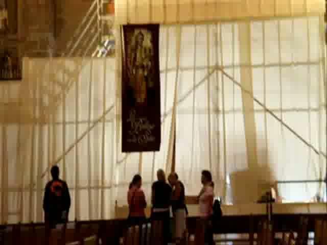 La Seu recupera con una restauración el «mejor» retablo de Mallorca