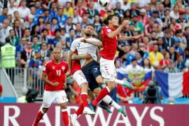 Francia amarra el primer puesto Dinamarca el segundo en el primer 0-0 de Rusia 2018