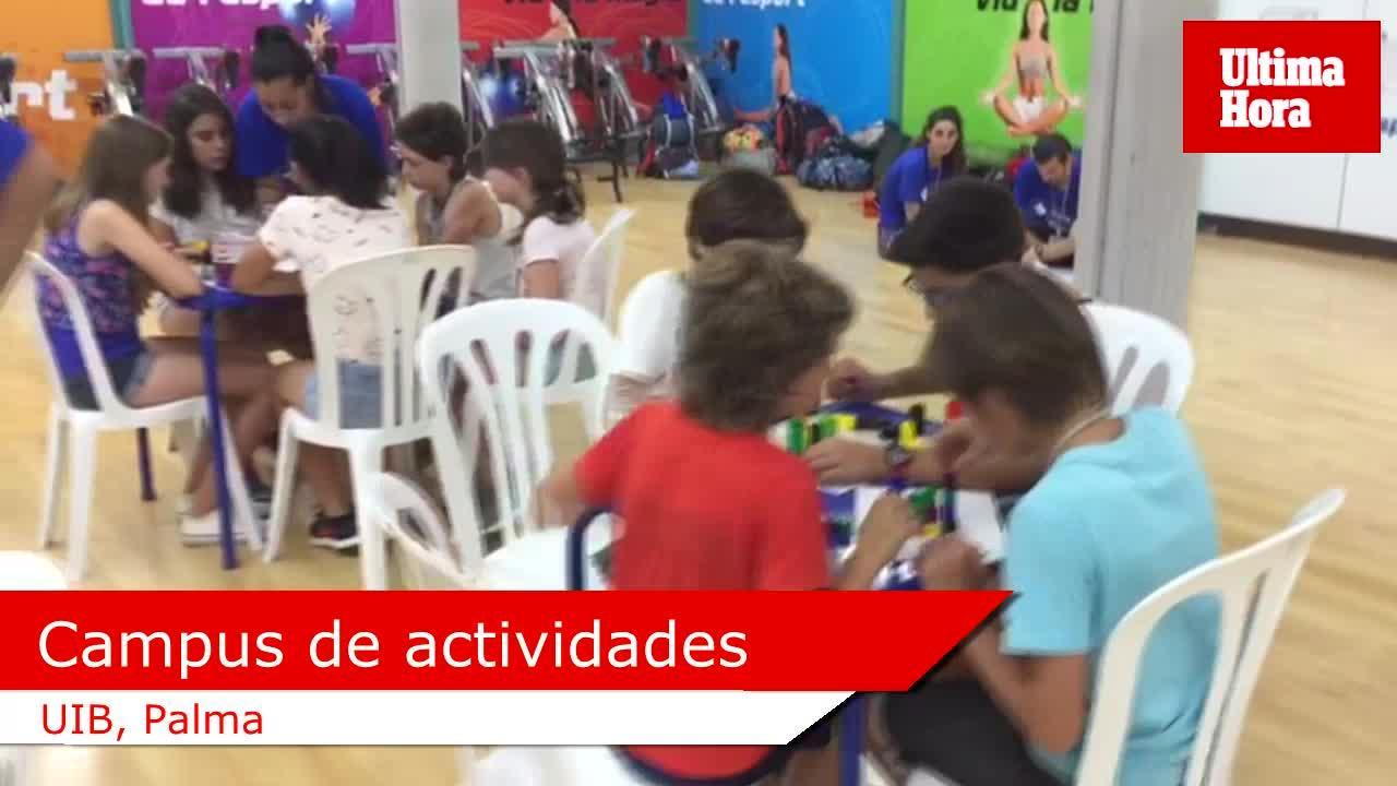 El II Campamento Petits Científics de la UIB combina actividades lúdicas y deportivas