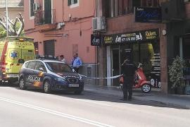 Arrestado un hombre tras atacar con una navaja al trabajador de una tienda en Palma