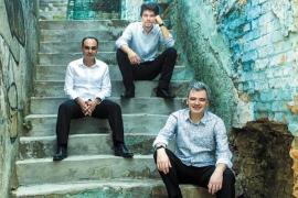 Los ganadores de un Grammy Trio Corrente, en Casa Planas