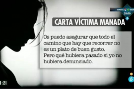 La víctima de La Manada rompe su silencio