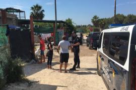 Operación contra el tráfico de marihuana en 'El Hoyo'