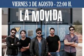 Luis Cadenas y su banda ofrecen un concierto despedida en La Movida
