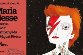 Maria Hesse presenta su libro 'Bowie' en Rata Corner